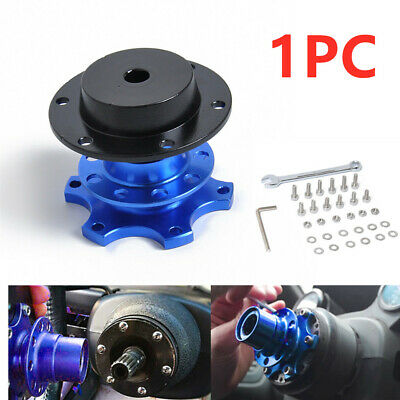 1X Durable Car Steering Wheel Quick Release HUB Racing Adapter Snap Off Boss Kit