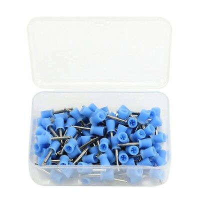 100pcs Dental Latch Polisher Type Polishing Prophy Cup Tooth Bowl Brushes