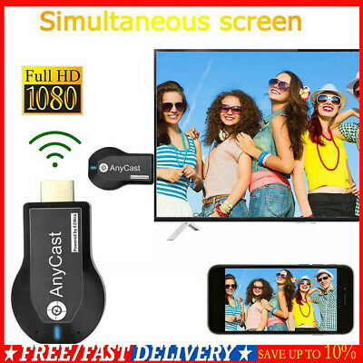 Anycast 1080P HDMI TV Stick Miracast AirPlay DLNA WiFi Empfänger Dongle Adapter