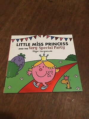 Mr. Men Books - Little Miss Princess And The Very Special Party - NEW!