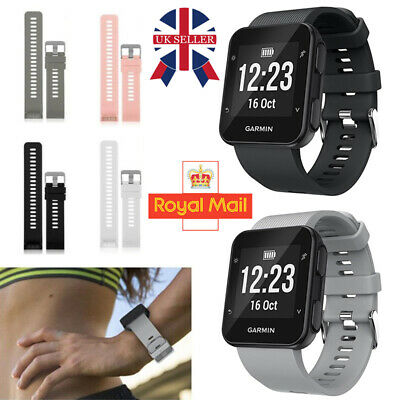 Replacement Wrist Band Strap Silicone Bracelet For Garmin Forerunner 35 Watch UK