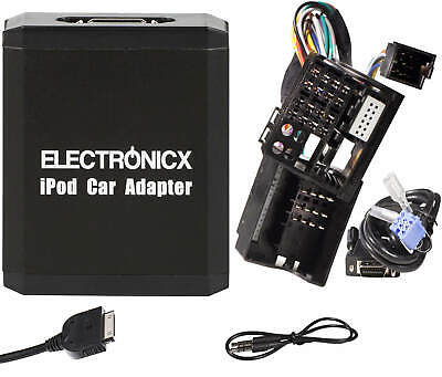 Adapter AUX for iPhone iPad iPod for Renault 12 Pin