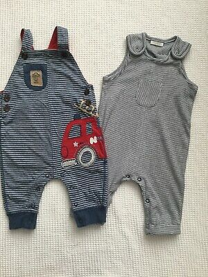Next Baby Boys 3-6 Months Outfits Dungarees Bundle Combined Postage