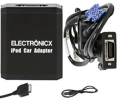 Adapter AUX for iPhone iPad iPod for Renault 8 Pin
