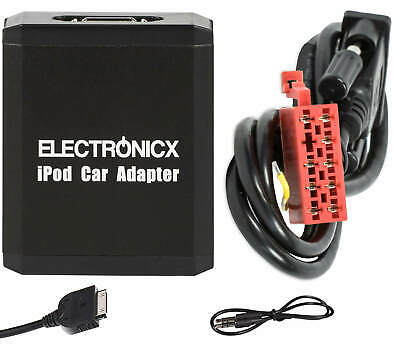 Adapter AUX for iPhone iPad iPod for Mercedes 10 Pin