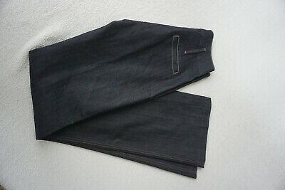 7 For All Mankind Jeans Donna Vita Alta Pantaloni Stretch W26 L34 Blu Scuro #C70