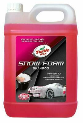 Turtle Wax 53141 Hybrid Ultra Thick PH Balanced Car Snow Foam  Hand Wash Car Sh