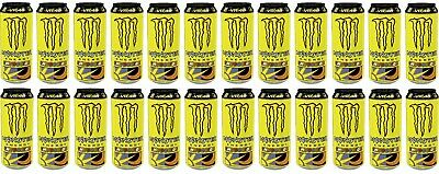 Monster Carbonated Energy Drink The Doctor VR46 Red Taurine & Ginseng 24x 500ml