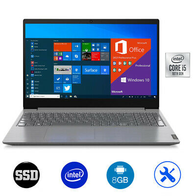 Notebook Lenovo intel i5,Ram 12 Gb,Ssd M.2 256Gb+Hdd 500Gb,Windows 10 Pro+Office