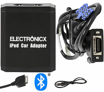 Adapter AUX Bluetooth for iPhone iPad iPod for Renault 8 Pin