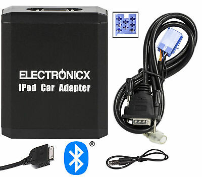 Adapter AUX Bluetooth for iPhone iPad iPod for Fiat Lancia