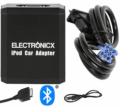Adapter AUX Bluetooth for iPhone iPod iPad for Smart Fiat
