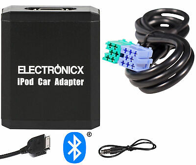 Adapter AUX Bluetooth for iPhone iPad iPod for Becker Radio