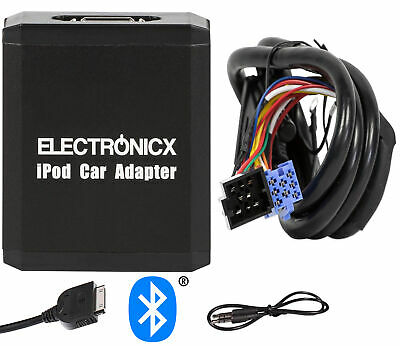 Adapter AUX Bluetooth for iPhone iPad iPod for VW Seat 8 Pin