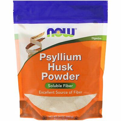 Psyllium Husk Powder by Now Foods Soluble Fibre - 680g