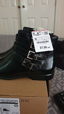 Zara girls ankle boots size 3