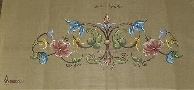 Large Kowhai Tapestries Floral Unworked Printed Crosstitch Approx 79cm x 30cm