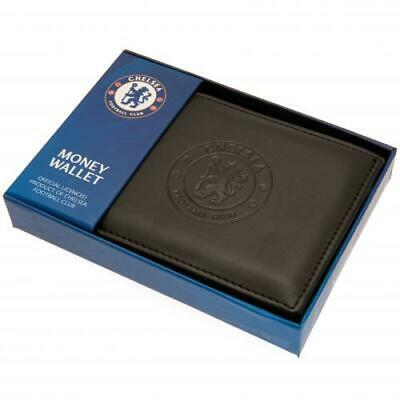 Chelsea FC Official Debossed Leather Wallet Christmas Gift Dad Father
