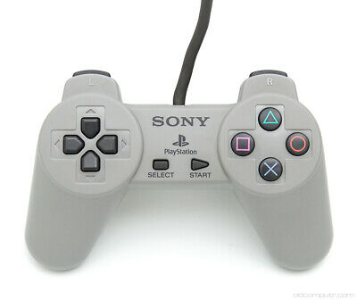 Sony PlayStation 1 PS1 Controller Original Official OEM Gray
