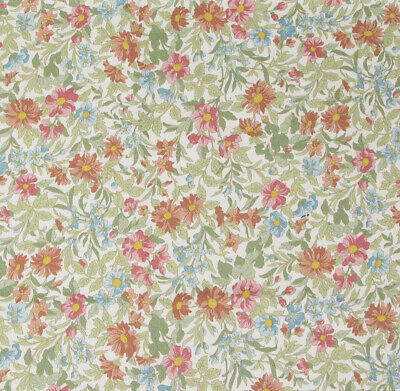 1m Ditsy Flower Navy Sevenberry Fabric PER METRE Floral Shabby Chic 6110D6-3