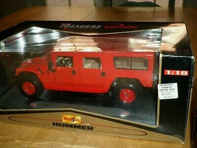 HUMMER [ STATION WAGON ], [ MAISTO TOY ] Die Cast Metal Toy Truck, Scale: 1/18
