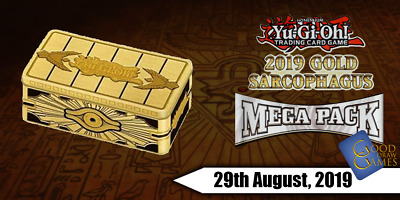2019 Gold Sarcophagus Tin - MP19 - Prismatic Secret Rares (25% OFF!) - YuGiOh