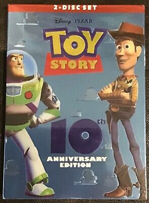 NEW SEALED Toy Story (DVD, 2005, 2-Disc Set) 10th Anniversary Edition PIXAR