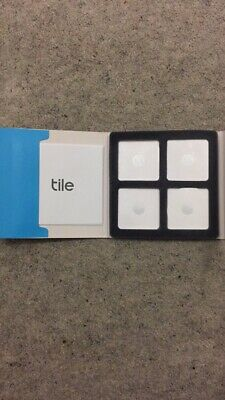 Tile Slim GPS Bluetooth Tracker - Key Finder Locator - iPhone Android -Pack of 4