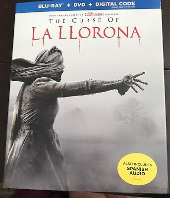 THE CURSE OF LA LLORONA  (BLU-RAY ONLY 2019) Case+Artwork+Slipcovers INCLUDED