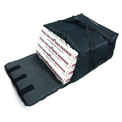 "Pizza Delivery Bag Insulated(Holds upto Five 16"" or Four 18"" Pizzas) Black"