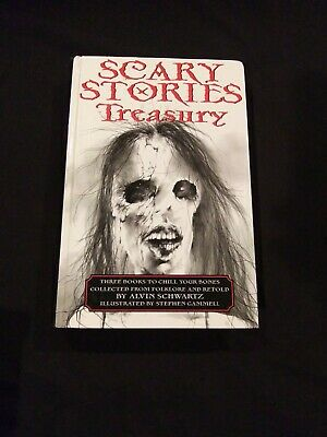 Scary Stories Treasury Hardback Scary Stories To Tell In The Dark