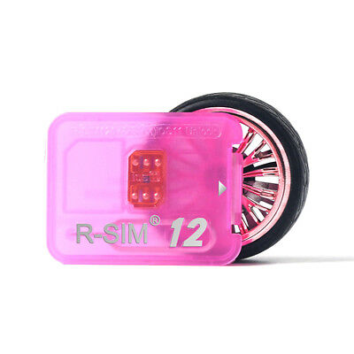 US RSIM 12 2019 Newest R-SIM Nano Unlock Card For iPhone X/8/7/6/5S 4G ALL iOS