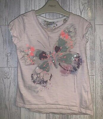 Girls Age 4-5 Years - Next Butterfly Top