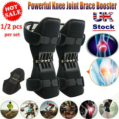 Power Knee Leg Stabilizer Pads Lift Joint Support Powerful Rebound Spring Force