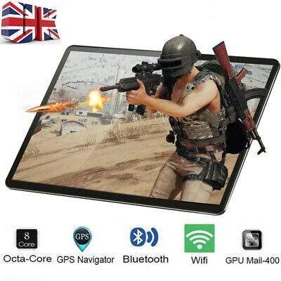 "10.1"" Inch Tablet PC HD Android 8.1 64GB Octa-Core WIFI Dual SIM Camera GPS"