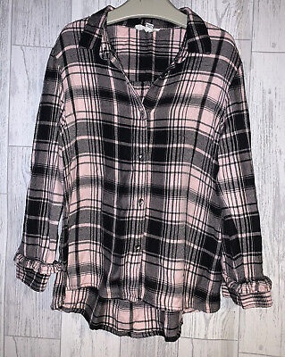 Girls Age 4-5 Years River Island Long Sleeved Checked Shirt