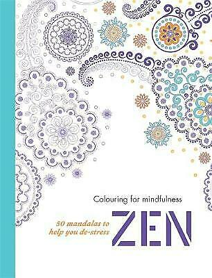 Zen: 50 mandalas to help you de-stress (Colouring for Mindfulness), Harry Styles
