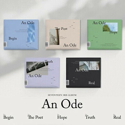 SEVENTEEN [AN ODE] 3rd Album RANDOM CD+2ea Photo Book+4p Card+Pre-Order SEALED