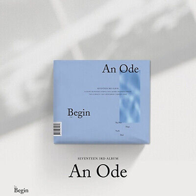 SEVENTEEN [AN ODE] 3rd Album Ver.1 CD+2ea Photo Book+4p Card+Pre-Order SEALED