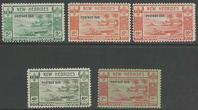 New Hebrides Sgd6/10 1938 Postage Dues Mtd Mint