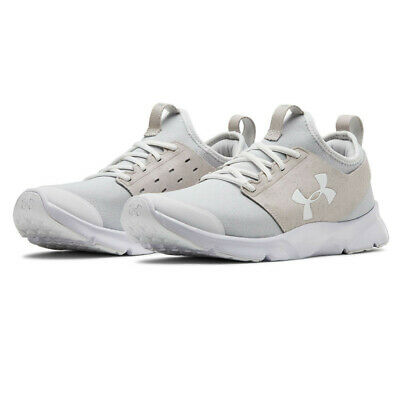 Under Armour Mens Drift RN Mineral Running Shoe Grey Sports Breathable