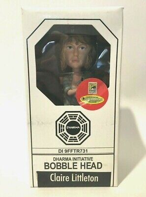 Lost TV Series Claire Littleton Bobble Head SDCC Exclusive 2009 Dharma Initiativ