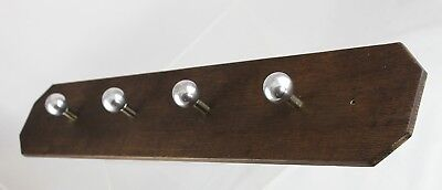 85cm - Original Art Deco Wardrobe - Hook - Old Coat Hook - Bauhaus