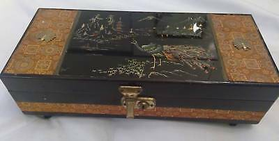 1960s Japanese jewelry box.Great condition.