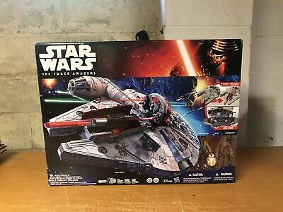 Star Wars The Force Awakens Battle Action Millennium Falcon NEW SEALED 2015!