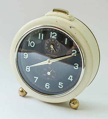 JUNGHANS HIPPO REPETITION ALARM CLOCK - Germany 1960's