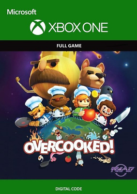 Overcooked - XBOX ONE *CD-KEY Digital Download* 🔑🕹🎮 INSTANT