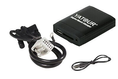 Yatour USB SD AUX Adapter for VW, Skoda, Audi & Seat + Removal Keys