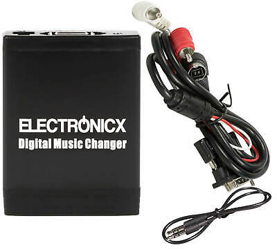 Electronicx Digital Music Changer Adapter USB SD AUX for Sony Radio