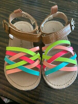 Carters Baby Girl Sandals Size 5